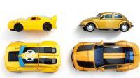 赛车和汽车变形金刚玩具