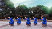 応子广场舞我和我的祖国_背面