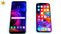 两大机皇极限对比, 三星Galaxy S9+和iPhoneX对比视频, 结局亮了!