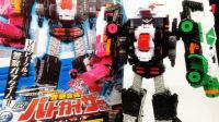 【玩家角度】DX 警察合体 巡逻凯撒 警察VS快盗 超级战队 合体机器人