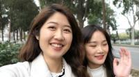 台湾小姐姐南京林大赏樱花! 美美的笑容让我感觉又恋爱了