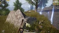 刺激战场: 98K搭配M4 开车遇敌直接下车打!