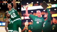 【布鲁】NBA2K18生涯模式:创造历史!季后赛横扫夺冠!奥尼尔总决赛MVP(69)