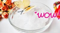 史莱姆省钱小窍门, 教你一招用清水加1种材料就能自制水变雪, 比买的还好用!