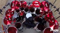 巴西鼓手Aquiles Priester2017年新鼓试音