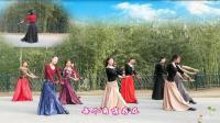 紫竹院广场舞——乌兰巴托的夜(带歌词字幕), 附背面演示