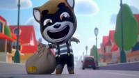 百度游戏《汤姆猫跑酷》完整游戏视频