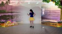 阳光美梅原创广场舞【DJ亲爱的你在想我吗】编舞: 美梅-背面演示