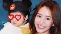 八卦:张子萱曝光女儿正脸 眼睛打码也超可爱