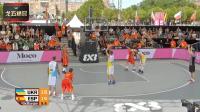 街头篮球乌克兰 VS 西班牙精彩时刻, 加时赛致命三分取胜