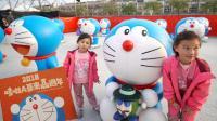 哆啦A梦专卖店贩售 ドラえもん Doraemon 哆啦A梦来嘉过年! 台湾灯会重现漫画场景