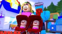 【Roblox收养模拟器】收养双胞胎姐妹买精灵旅社! 天空之城蹦极! 小格解说 乐高小游戏