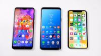 iPhoneX、三星S9、华为P20大对比, 到底谁更胜一筹!