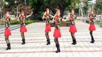 美丽传奇广场舞红山果原创水兵舞动作