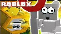 【豪宝宝】Roblox 虚拟世界 蜂群模拟器卡哇伊小熊熊蜜蜂 乐高小游戏