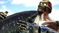 无敌巨鲨大战进击的巨人 最终谁能获胜