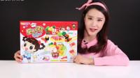 凯利的魔法黏土 寿司意大利面盒饭玩具制作 凯利和玩具朋友们 小伶玩具