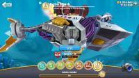 饥饿鲨世界: 暴力机械鲨连撞十几个炸弹居然没事?