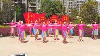 建阳村广场舞《心中的阿妹》2018年最新广场舞