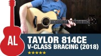 Taylor 814ce with V-Class Bracing!