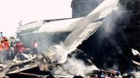 现场:阿尔及利亚一军机坠毁致257人遇难