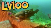 长相凶恶的邓氏鱼LV100※海底大猎杀《Feed and Grow: Fish》