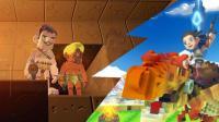 入江闪闪: 方块方舟02-秘密水下基地烧锅炉疯狂冒烟, 可怕的异次元的超级传送门~