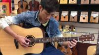 卡马新品面单吉他F1-D音色评测