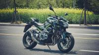 「呆子测评」川崎四缸街车Z900, 骑士网摩托车测评