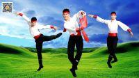 青年舞蹈家邓斌原创作品《蒙古汉》正面演示