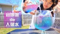 不停变色的人鱼水! 世界上最健康的饮料!