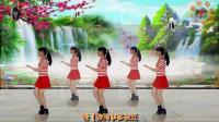 阳光美梅原创广场舞《爱江山更爱美人》水兵舞风格32步-编舞: 美梅2018最新广场舞视频