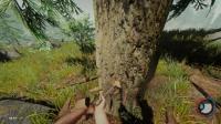 ★LXY★森林☆TheForest★极致画质生存 4 砍树! 开始造家!