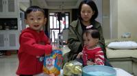 小伶玩具 宝宝食玩吃趣味饼干视频 晨晨的玩具 吃水果形状的饼干