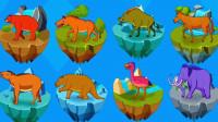侏罗纪总动员 恐龙世界大冒险 侏罗纪公园 恐龙探索与认知 陌上千雨解说