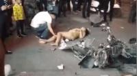 广西河池: 轿车失控连撞10车致8伤 司机神情恍惚涉毒驾