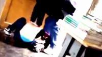实拍:贵州一中学教师殴打学生被停职