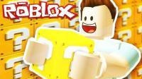【豪宝宝】Roblox 虚拟世界 乐高幸运方块大战场超神飞天斗篷旋风冲锋剑