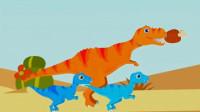 恐龙岛 霸王龙世界大冒险 侏罗纪公园 恐龙历险记 霸道的霸王龙 陌上千雨解说