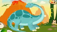 考古学家侏罗纪公园探索恐龙世界大冒险迷惑龙的出现 恐龙骨骼化石挖掘 陌上千雨解说