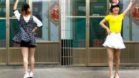 广场舞《轻轻的告诉你》简单水兵舞, 附背面演示教学