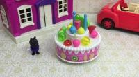 生日蛋糕儿童玩具, 丹尼过生日儿童故事