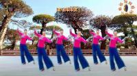 阳光美梅原创广场舞【又见炊烟】优美形体舞-编舞: 美梅2018最新广场舞视频