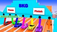 新美国英语启蒙 超级跑车短距离障碍冲刺赛 家中的美国学校