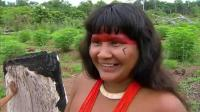 亚马逊原始部落一夫多妻 狩猎 打鱼生活