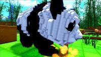 【虾米】方舟: 方块世界EP9, 智取老鹰, 发现大熊猫