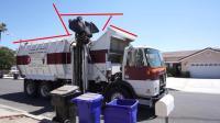 有害垃圾处理, 魏零: 挂桶式垃圾车收集车