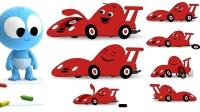 宝宝与赛车玩具宝宝的玩具总动员玩具英语儿童英语小学英语基础ABC