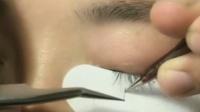 最新美睫教学之真人嫁接睫毛如何快速找毛、分毛、睫毛加密演示-微林美睫-视频教程课