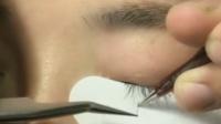 最新睫毛嫁接真人教学单根加密及空隙填补演示-微林美睫-视频教程教学课程培训